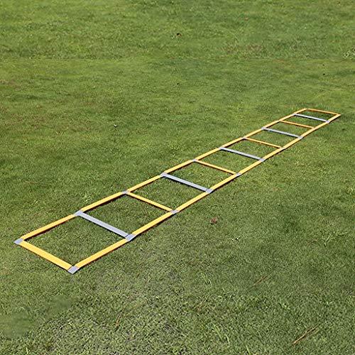 Escalera for agilidad - Escalera Escalera velocidad fútbol velocidad agilidad Equipo de formación, la agilidad escalera de velocidad escalera de formación de fútbol 11 plana del peldaño de escalera ve