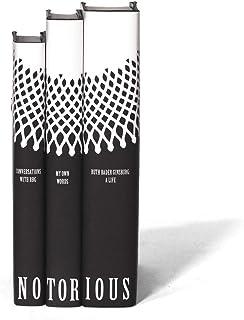 Juniper Books Ruth Bader Ginsburg Set | Three-Volume Hardcover Book Set with Custom Designed Dust Jackets