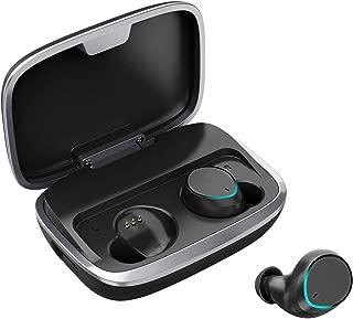 【進化版 2019最新Bluetooth5.0搭載】 Bluetooth イヤホン 5.0 ワイヤレスイヤホン 両耳 66時間連続駆動 Hi-Fi高音質 音量調整可能 自動ペアリング マイク内蔵 IPX7完全防水 左右分離型 ブルートゥース イヤホン
