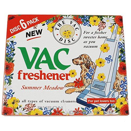 Qualtex Vacuum Cleaner Air Freshener Disc, Pack of 6