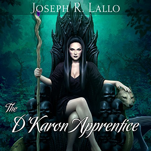 The D'Karon Apprentice audiobook cover art
