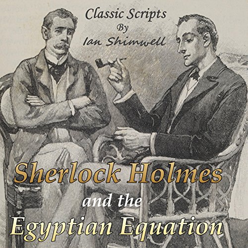 Sherlock Holmes and the Egyptian Equation audiobook cover art
