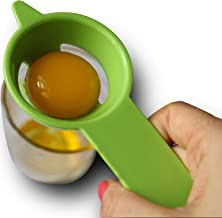 Egg Yolk Separator - Egg Separator Tool - Quickly and Easily Egg Filter Cooking Tool