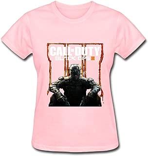 HUBA Women's T Shirt Call Of Duty Black Ops III 2 Black
