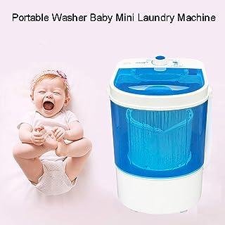 Wensa Tragbare Waschmaschine Baby Mini Waschmaschine, Mini-Waschmaschine Einzel Tub, Kleine Compact Machine, Kinderkleidung Waschmaschinen-Trockner
