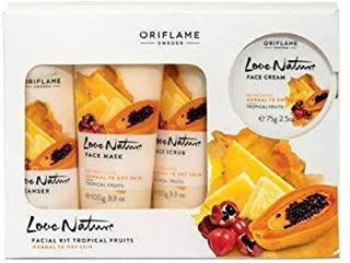 Oriflame Love Nature Facial Kit Tropical Fruits