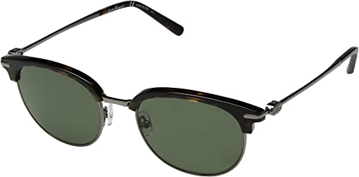 Havana/Dark Ruthenium/Solid Green Polarized
