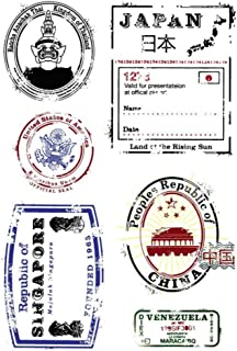 Layhome Stamping Silicone Clear Stamp Cards Making (Passport)
