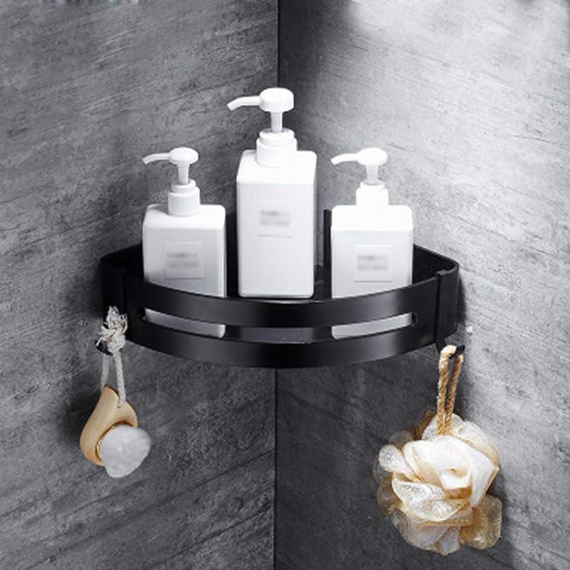 薄いですかもしれないグリップ浴室ラックコーナーラック いアルミ製 シャンプーラック 吊り下げ 強力粘着 穴あけ不要 水切 浴室ラック キッチン用ラック バス用品