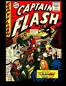 Free Download Captain Flash #2: Golden Age Superhero Comic