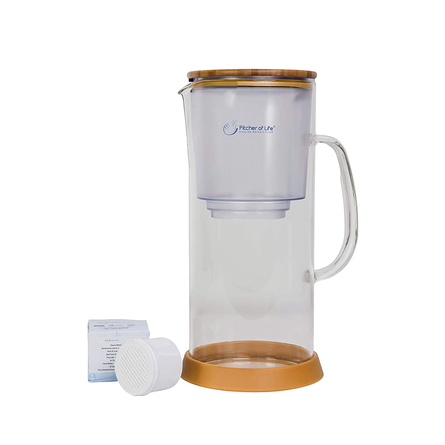 Popular popular Pitcher of Life New Improved 2021 In stock Alkaline Glass - Water Model