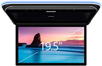XTRONS 19.5 Inch Car Overhead Player 16:9 Wide Screen 1080P Video Car Roof Mount Monitor Ultra-Thin Flip Down Overhead Car...