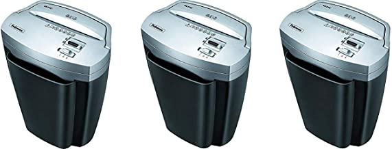 $421 » Fellowes Powershred W11C, 11-Sheet Cross-Cut Paper and Credit Card Shredder with Safety Lock (Pack of 3)