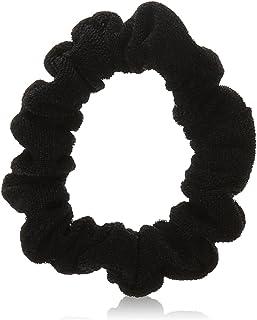 Scunci Effortless Beauty Mini Slinky Black Twisters, 6 Count