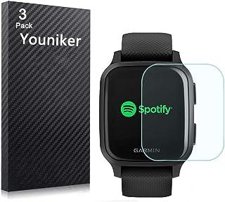 Youniker 6 Pack Compatibel met Garmin Venu Sq Screen Protector Film voor Garmin Venu Sq GPS Smartwatch Screen Protectors F...