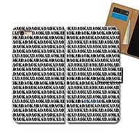 Rakuten BIG s 3917JR ケース 手帳型 名前 手帳ケース スマホケース カバー 名前 苗字 岡田さん OKADA おかだ E0303030117102