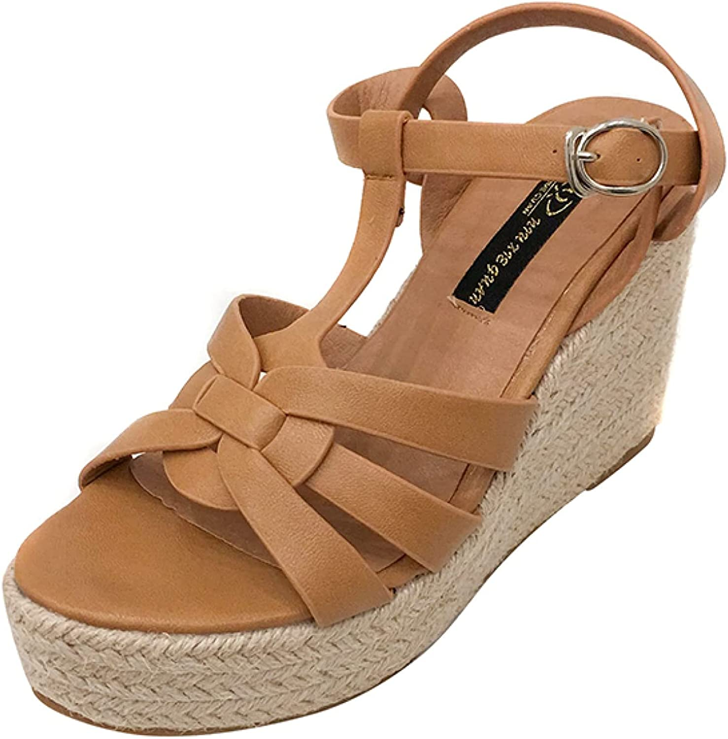 Womens Summer Open Toe Buckle Anti Don't Ranking TOP15 miss the campaign Skid Resistant T-Strappy Wear