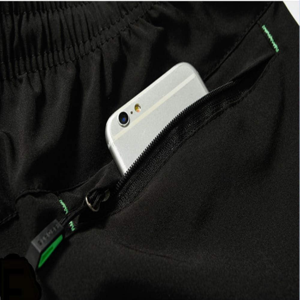 GQDP Pantalon de Sport pour Homme léger et élastique à séchage Rapide Gris Foncé