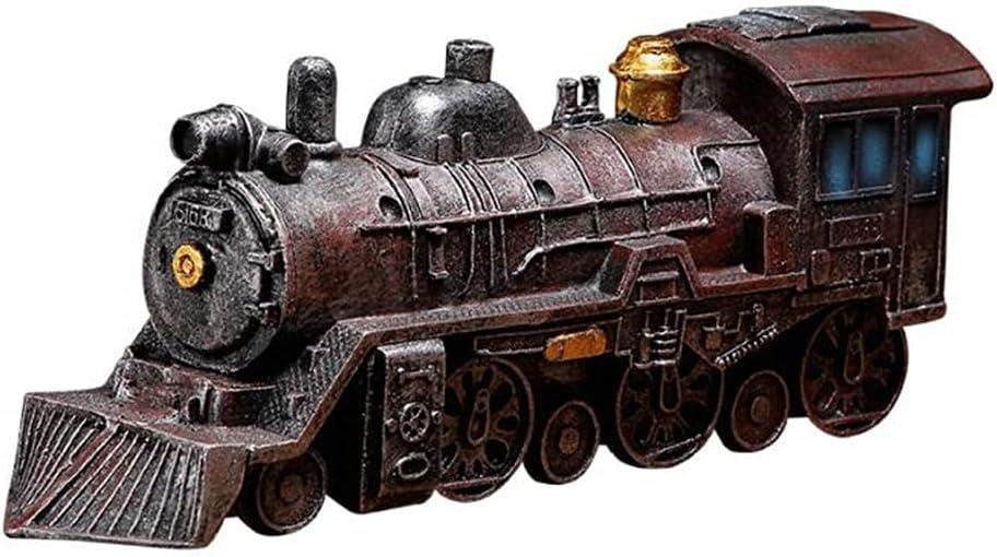LANLANLife Resin Locomotive Model Retro Crafts Home Decorat 40% OFF Cheap Sale Many popular brands and