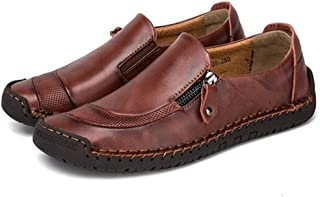 Big Size 38 48 Men Casual Shoes Loafers Spring and Autumn Mens Moccasins Shoes Genuine Leather Men's Flats Shoes