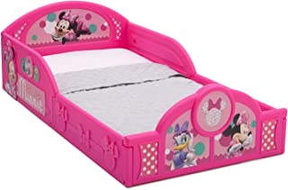 Delta Children Minnie Mouse Plastic Sleep and Play Toddler Bed