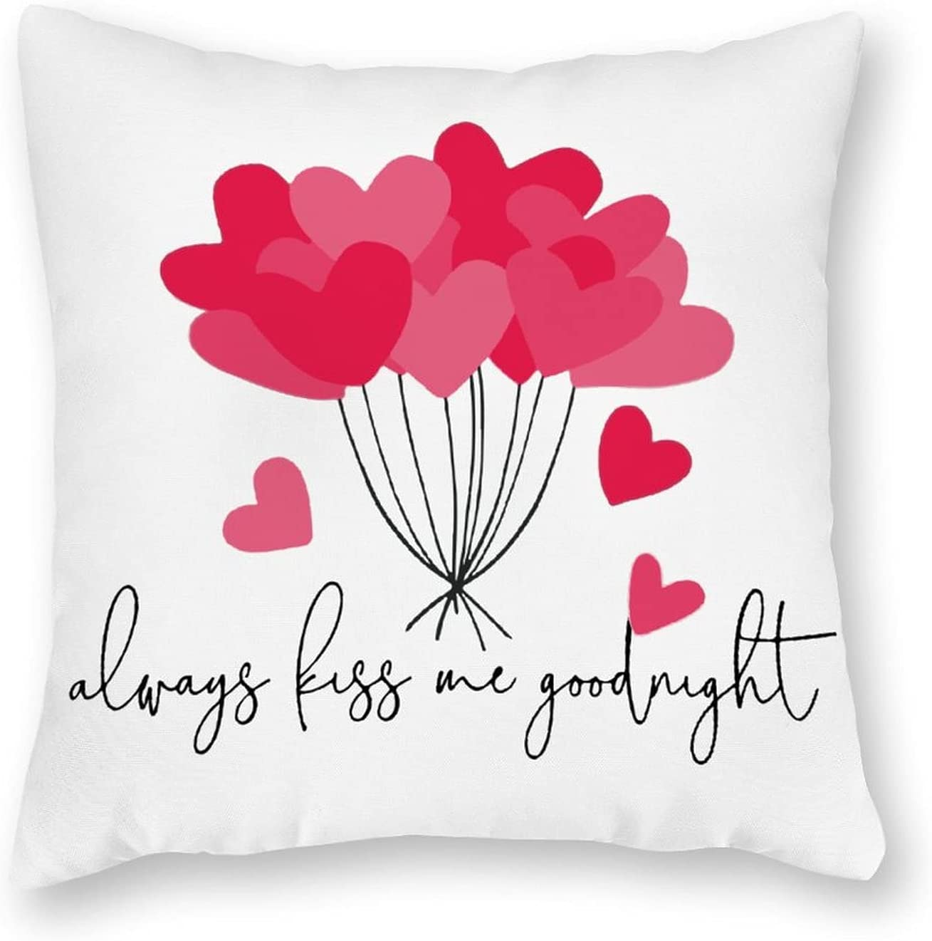 By Outstanding Unbranded Pillowcase Quantity limited Always Kiss Goodnight Me Body Microfiber