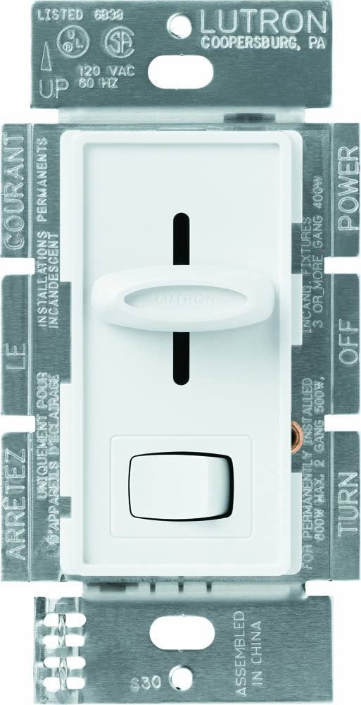 Lutron Clearance SALE! Limited time! Inventory cleanup selling sale SELV-303P-WH LIGHTING DIMMER White