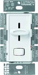 Lutron SELV-303P-WH Skylark 300-watt 3-Way Electronic Low-Voltage Dimmer, White