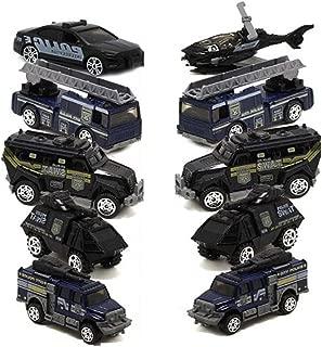 East Majik Police Car Suit Children's Toy Car Model Kids Gifts Set of 5(Random Mix Send)