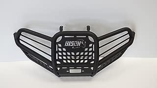 Bison 166-147H ATV Front Bumper Wrinkle Black Yamaha 450 Grizzly Kodiak 08-2014