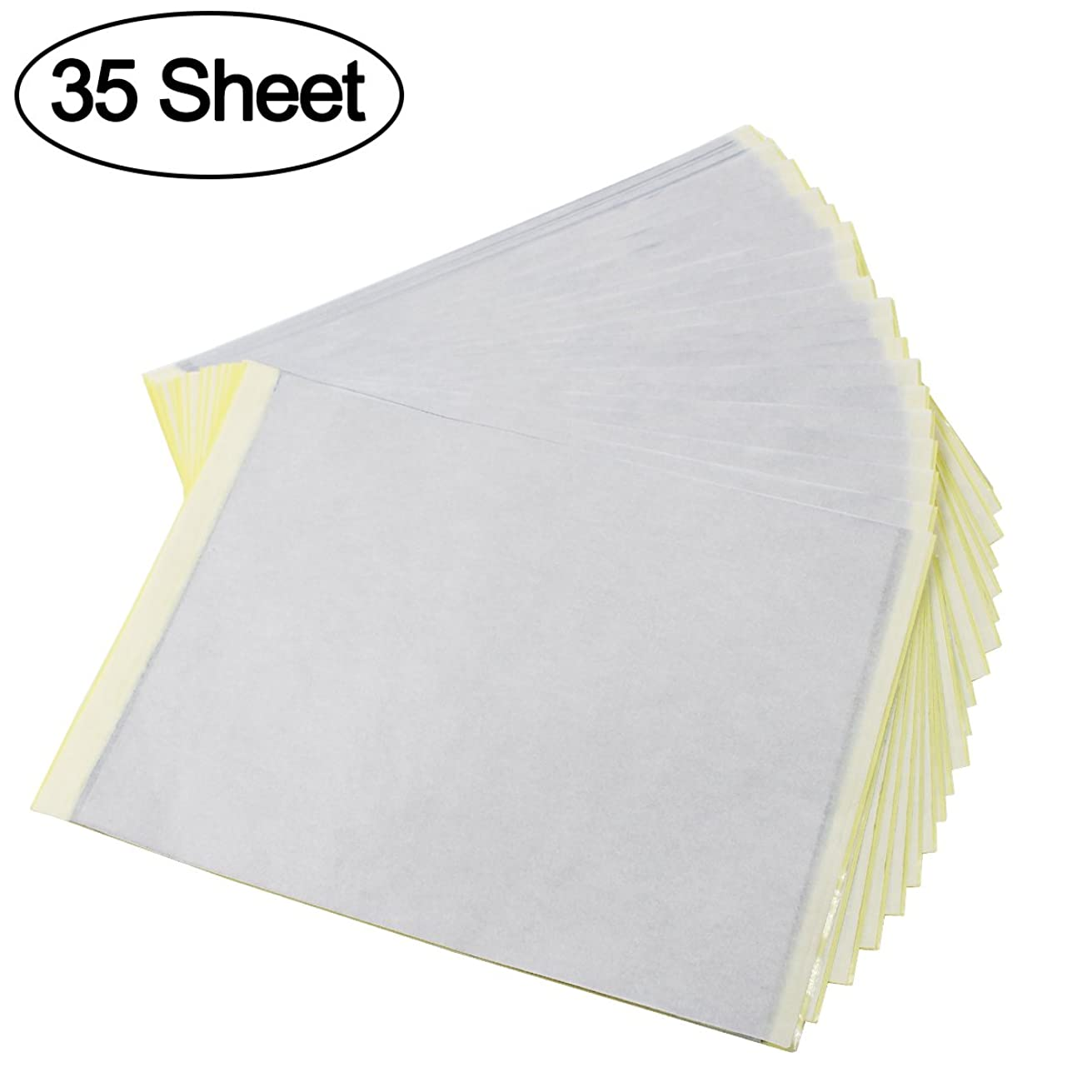 Tattoo Transfer Paper, Qulable Approx. 35 Sheets Stencil Paper Copy Paper Tracing Paper with 4 Layers (A4 Size)