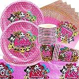 Doyomtoy 61 Piezas Decoraciones Cumpleaños L.o.l Surprise Vajilla de Cumpleaños, Surprise Party...