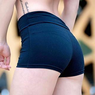Beiziml Women Yoga Shorts High Waist Sports Gym Short Training Fitness Bottom Sportswear Quick Dry Running Elastic Tight S...
