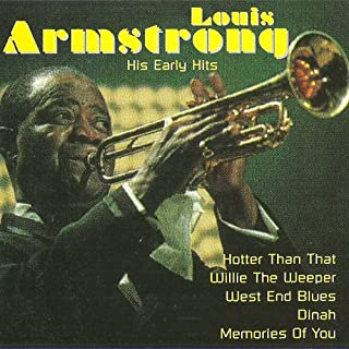 Original Vinyl Record to CD Recordings ! With nice cracking noise (Knistern, Rauschen) (CD Album Louis Armstrong, 16 Tracks incl. Louis Armstrong - Memories Of You)