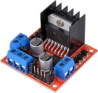 kuman L298N Motor Drive Controller Board DC Dual H-Bridge Robot Stepper Motor Control & Drives Module for Arduino Smart Car Power UNO MEGA R3 Mega2560 Duemilanove Nano Robot K48