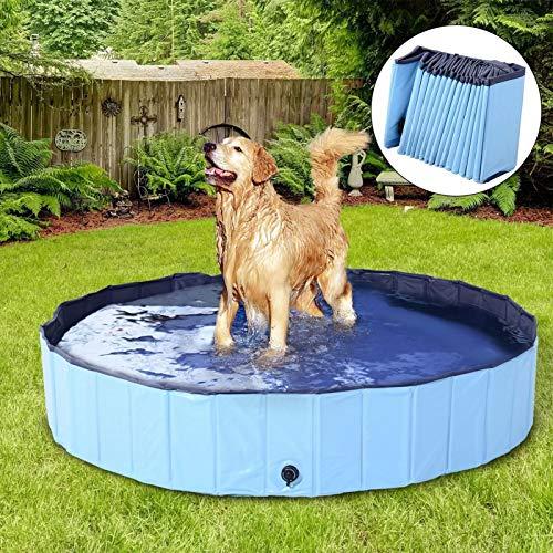 DreiWasser Hundepool Planschbecken für Hunde und Kinder 120cm (120 * 30)