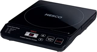 NESCO PIC-14, Electric Portable Induction Cooktop, Black, 1500 watts