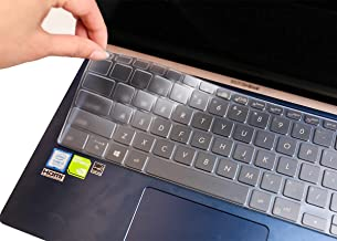 TPU Leze Ultra Thin Laptop Keyboard Cover Skin Protector for 11.6 ASUS VivoBook E203MA Ultra Thin Laptop US Layout