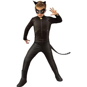 Ladybug - Disfraz de Cat Noir para niños, talla 5-6 años (RubieS ...