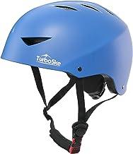 TurboSke Skateboard Helmet, ASTM & CPSC Certified Bike Helmet BMX Helmet Multi-Sport Helmet for Youth Men and Women