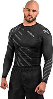 Hayabusa Metaru Rash Guard for Men | Long Sleeve | Brazilian Jiu Jitsu