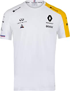 2019 Official Mens T-Shirt White Tee Formula One Merchandise