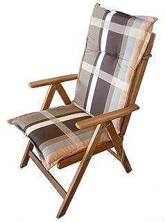 Coussin fauteuil à dossier haut–Coussin de chaise de jardin Wohndesign Coussin