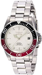 Invicta Men's 9404 Pro Diver Collection Automatic Silver-Tone Watch