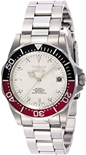 Men's 9404 Pro Diver Collection Automatic Silver-Tone Watch