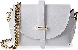 Vittoria Napoli Crossbody Bag for Women, White - S101