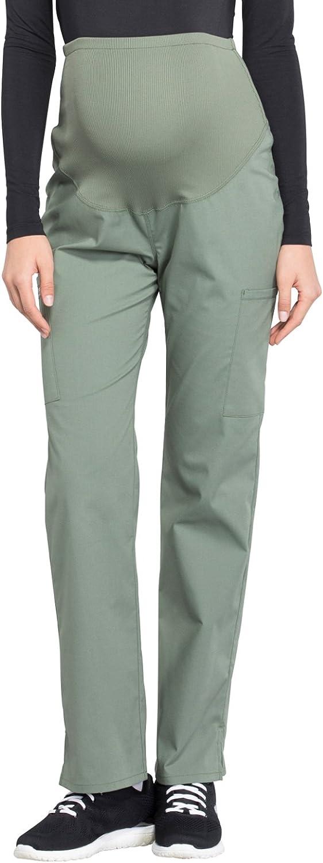 Cherokee Workwear Professionals Women's Maternity Straight Leg Scrub Pant