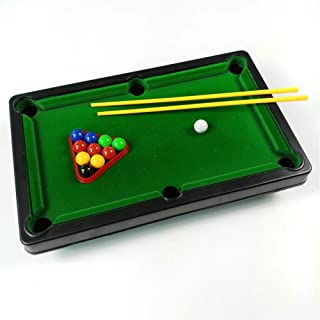 Nine-tailed fox New Children Big Household Mini Toys Billiards Table Games Plastic Functional Household Snooker Table Games for Kids (Color : Decompression Toy)