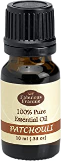 Patchouli 100% Pure, Undiluted Essential Oil Therapeutic Grade - 10 ml. Great for Aromatherapy!