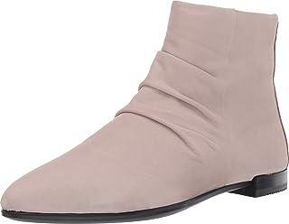 ECCO Women's Shape Pointy Toe Ankle Boot, Grey Rose Nubuck, 38 M EU (7-7.5 US)